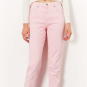 Blush High Rise Amanda Jeans